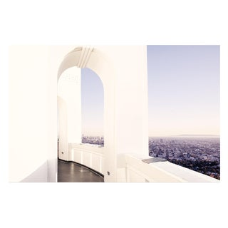 """""""Griffith Observatory Cityscape"""" 48x30 Original Framed Photograph"""