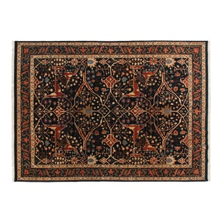 "Vintage Indian Bijar Design Carpet - 10'2"" X 14' For Sale"