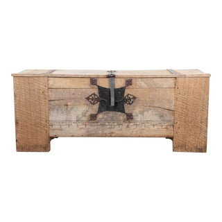 17th Century German Trunk For Sale