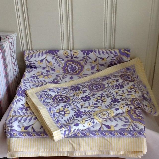 Tuscany Style Tablecloth & Napkins - Set of 8 - Image 9 of 10