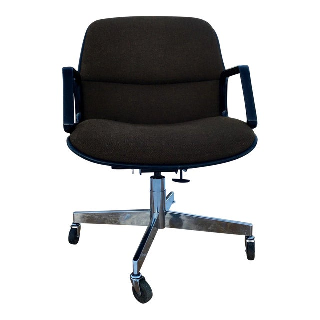 Mid-Century Modern Charles Pollock Style Desk Chair by All•Steel For Sale