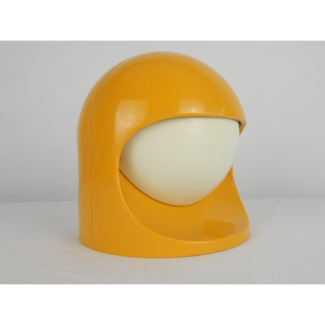 """Lightolier Space Age Lightolier """"Interplay 2"""" Yellow Lamp For Sale - Image 4 of 13"""