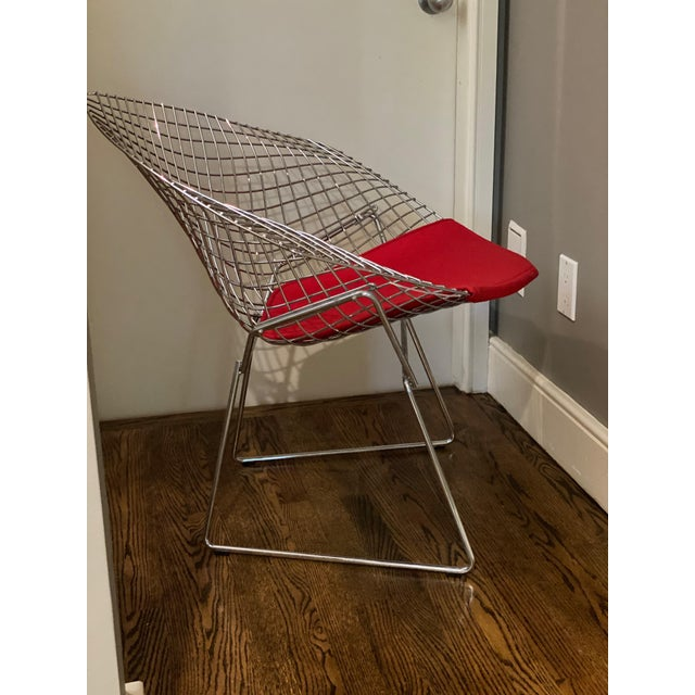 Mid-Century Modern Bertoia Diamond Lounge Chair Designed by Harry Bertoia for Knoll® For Sale - Image 3 of 6