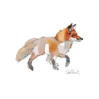 The Fox Giclee Print For Sale