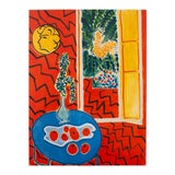 """Image of 1994 Henri Matisse """"Red Interior"""" First Edition Poster For Sale"""