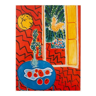 """1994 Henri Matisse """"Red Interior"""" First Edition Poster For Sale"""