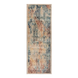 Journey Nicola Traditional Floral Multi-Color Runner Rug - 2' x 8'
