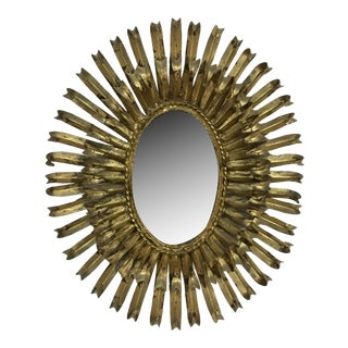Mid-Century French Gilt Mirror