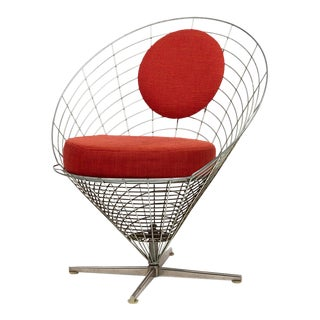 Vire Cone Chair by Verner Panton For Sale