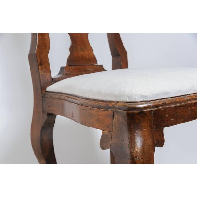 Set of Four 19th Century Queen Anne Revival Side Chairs with Slip Seats - Image 9 of 9