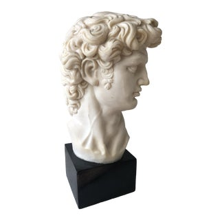 Resin Composite David Bust For Sale