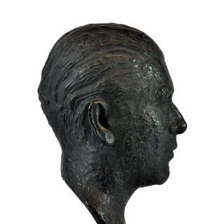 Bronze Bust signed Valsuani Foundry