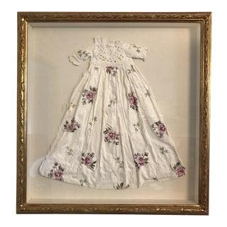 Antique Children's Dress Paper Sculpture by Mellie Cooper For Sale