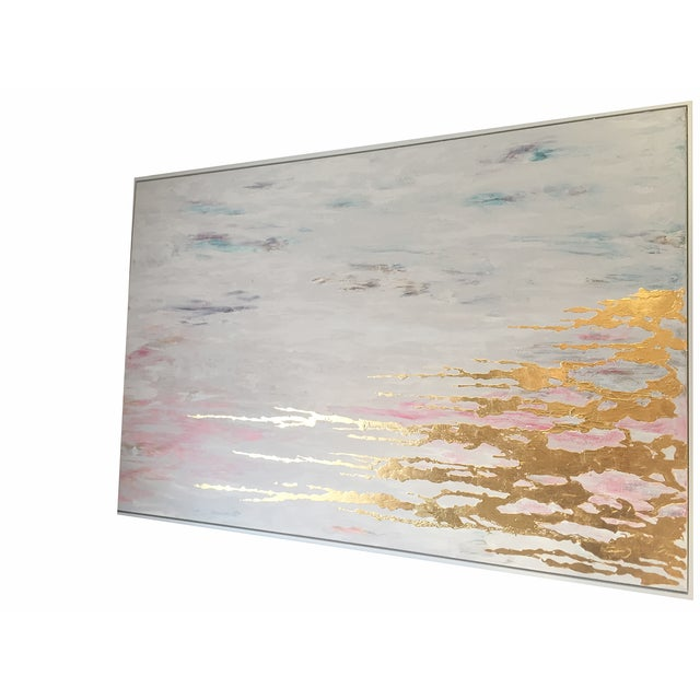 Metallic Commissioned Original Abstract Painting - Image 3 of 8