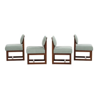 Frank Lloyd Wright Taliesin Dining Chairs - Set of 4 For Sale