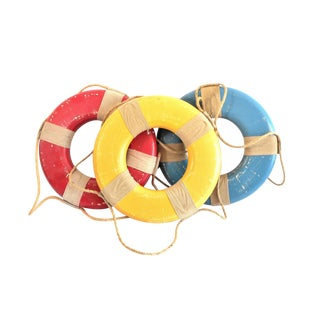 Vintage Nautical Life Rings - Set of 3