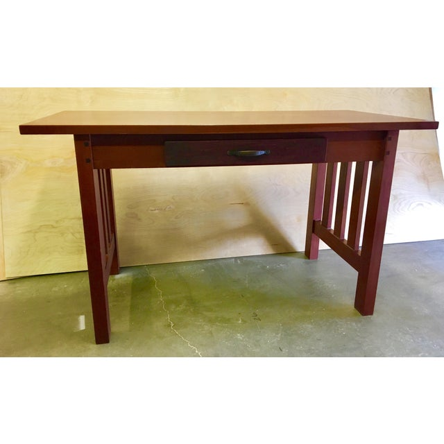 Fine Solid Mahogany Table Desk Download Free Architecture Designs Griteanizatbritishbridgeorg