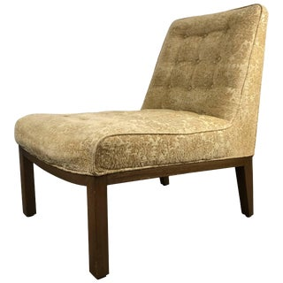 Classic Modern Slipper Chair Designed by Edward Wormley for Dunbar For Sale