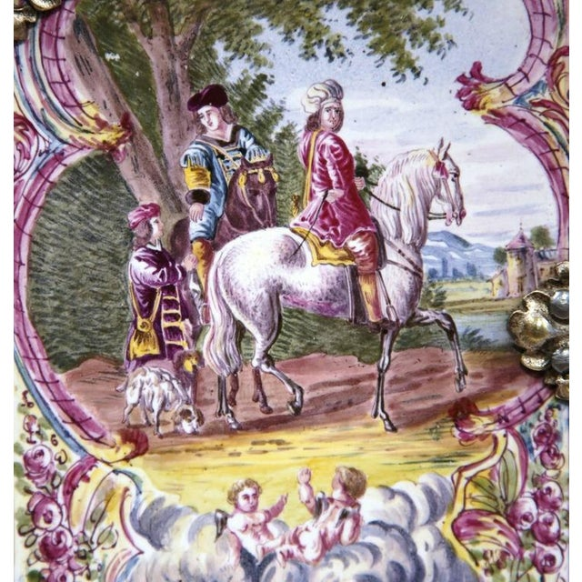 French Book Shaped Porcelain Jewelry Box - Image 8 of 9