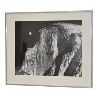 Robert Werling Half Dome Yosemite California Black & White Silver Gelatin Photograph