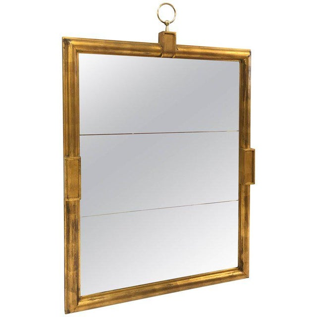 1950s Large Tommi Parzinger Mirror For Sale - Image 5 of 5