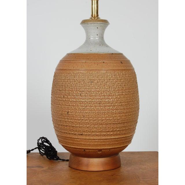 Studio Ceramic Lamp by Phil Barkdoll - Image 2 of 8