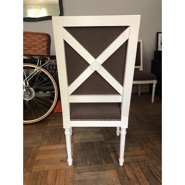 Jonathan Adler Jonathan Adler Dining Chairs - a Pair For Sale - Image 4 of 11