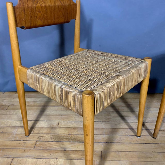 1950s Egon Eiermann Church Chairs- Set of 4 For Sale - Image 10 of 13