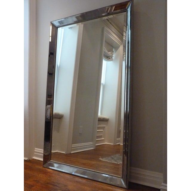 Restoration Hardware Venetian Bead Floor Mirror - Image 4 of 4