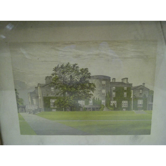 "Americana Vintage Print ""Galloway House"", 1930 For Sale - Image 3 of 5"