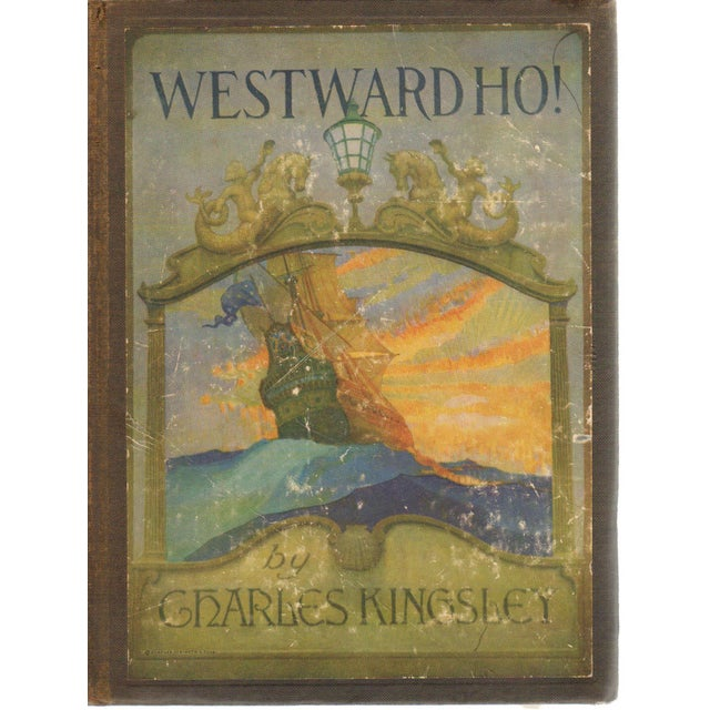 Charles Kingsley Westward Ho 1924 Book For Sale