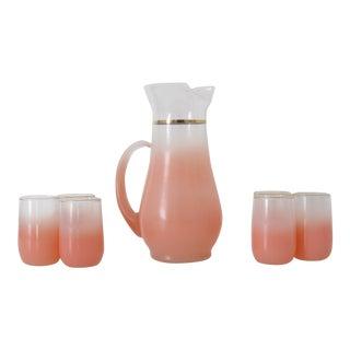 Pink Blendo Serving Set - Set of 7