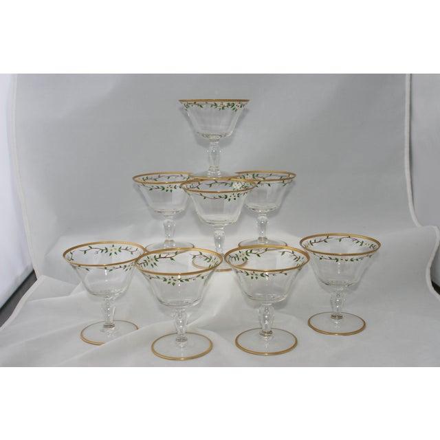 Vintage Footed Cocktail Glasses - Set of 8 - Image 5 of 5