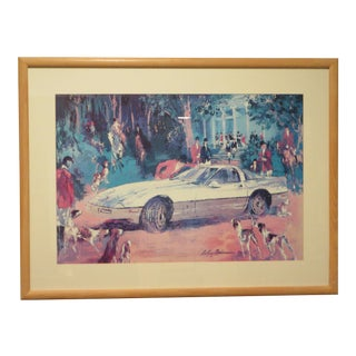 """LeRoy Neiman Print """"Rendezvous a La Corvette"""" For Sale"""