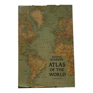 1975 National Geographic Atlas of the World For Sale
