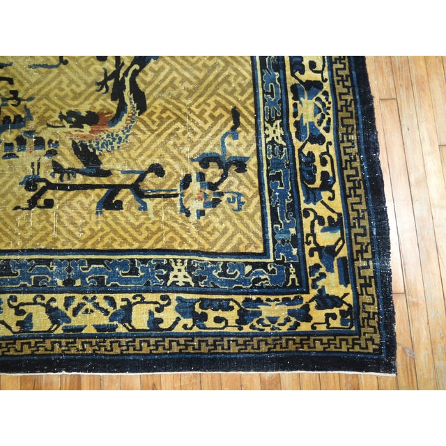 Overisze Antique Chinese Rug, 13'3'' X 17'9'' For Sale In New York - Image 6 of 13