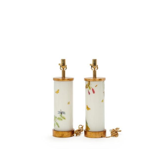 Contemporary Eden Parrots Table Lamps by Liz Marsh Designs - a Pair For Sale - Image 3 of 5