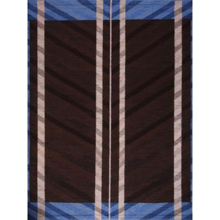 Swedish Flatweave in Custom Design Rug For Sale