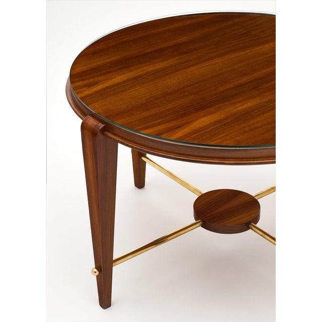 Art Deco Art Deco Period Figured Walnut Gueridon Table For Sale - Image 3 of 10