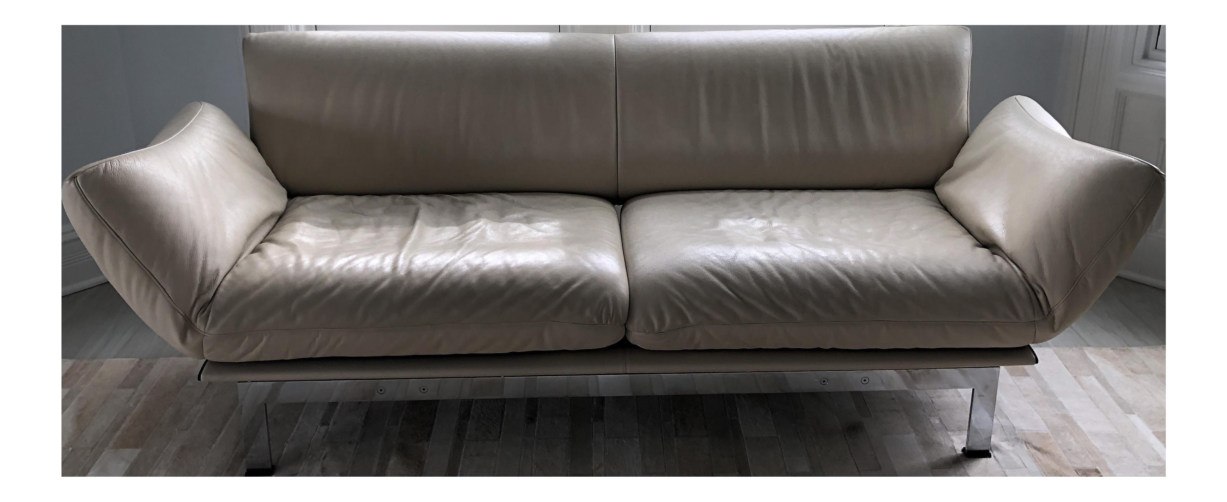 De Sede Vintage Leather Sofa   Image 1 Of 11