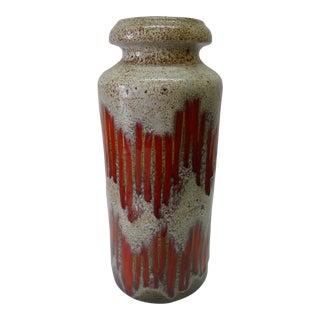 West German Scheurich Fat Lava Vase