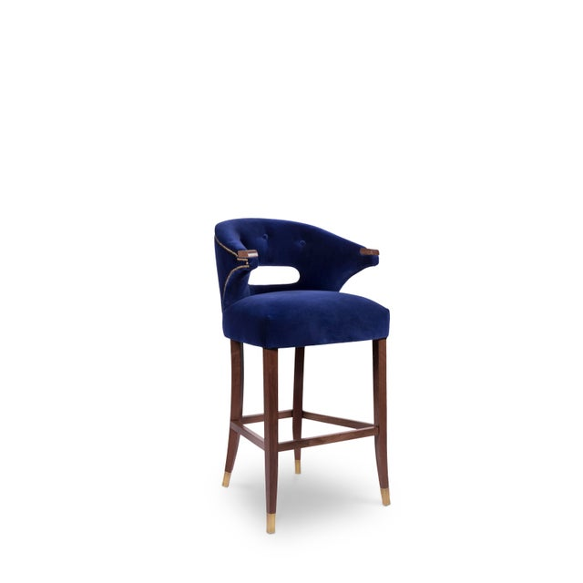 Nanook Bar Chair From Covet Paris For Sale - Image 4 of 7