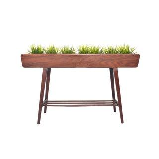Tall Danish Modern Teak Planter For Sale