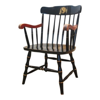 Vintage Windsor Style University of Louisville Armchair