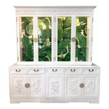Image of Asian Chinoiserie China Cabinet by Ricardo Lynn For Sale
