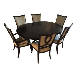 Mid-Century Modern Thomasville Nocturne Dining Set For Sale