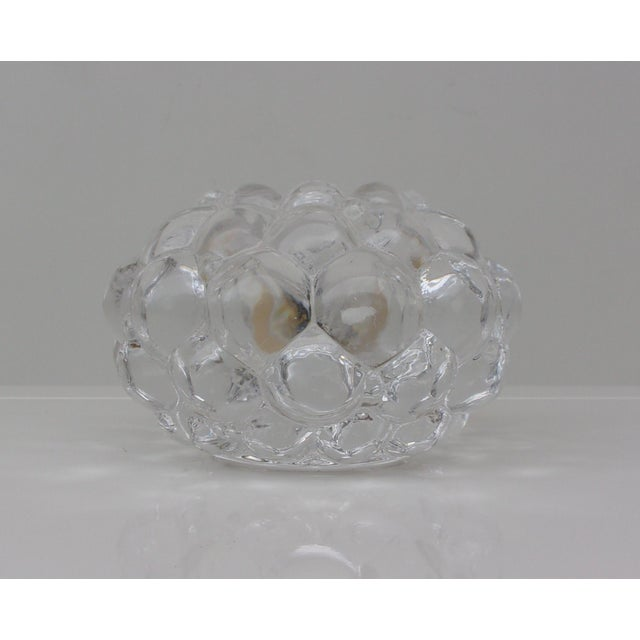 Vintage Crystal Candle Holders - Set of 3 For Sale - Image 4 of 8