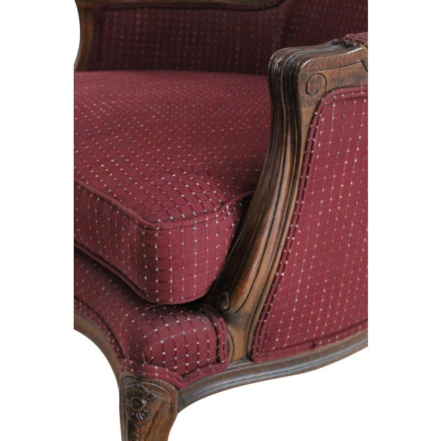 Ethan Allen Louis XV Style Bergeres - A Pair - Image 3 of 3