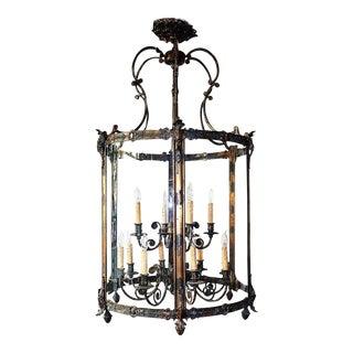 Minka Oversize Regency Lantern Chandelier