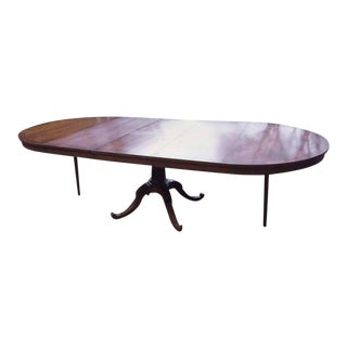 Versatile Round & Expandable Cherry Dining Table